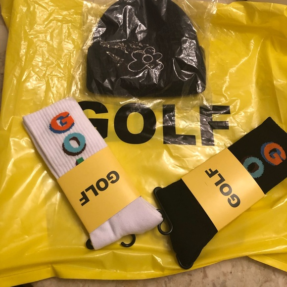 GOLF WANG Other - GOLF Flowerboy Beanie and Socks